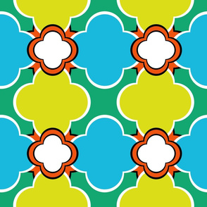 Morocco (Spring) 9inch Repeat, David Rose Designs