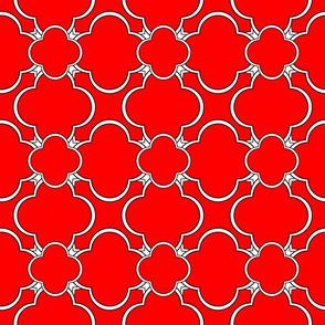Morocco (Red) 6inch Repeat, David Rose Designs