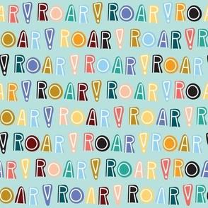 rainbow roar - mint - small