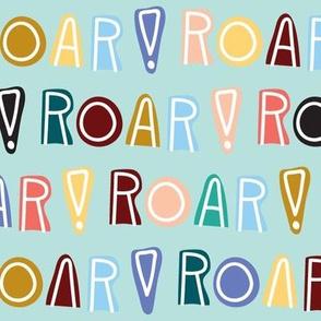 rainbow roar - mint - large