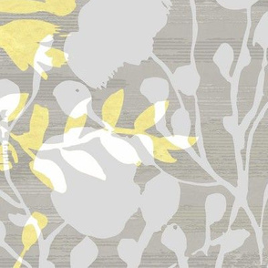 flower chinese shadow yellow_AM19O924