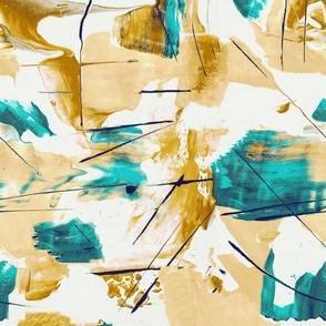 Brush strokes gold_AM19N916
