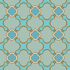 Marocco (Spa) 6inch Repeat, David Rose Designs