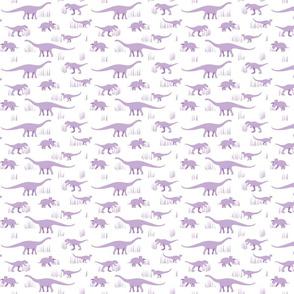 dinosaurs pattern purple-small