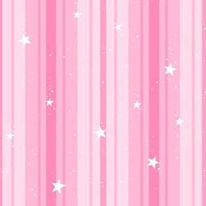 Stripes N' Stars in Pink