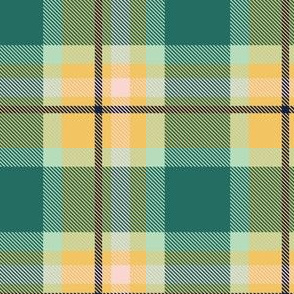 Blue and Yellow Plaid V.02