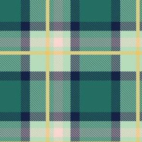 Blue and Yellow Plaid V.03