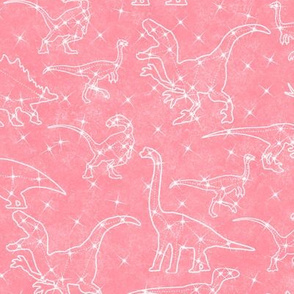 pink constellation dinosaurs
