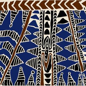 Batik - Samoa Scarf 37x18 - no border