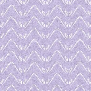 Petal Chevron in Velvety Lilac