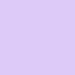 Blooming solid coordinate lilac purple