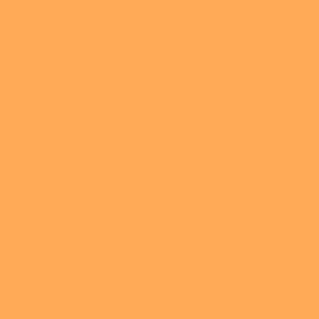 Blooming solid coordinate orange