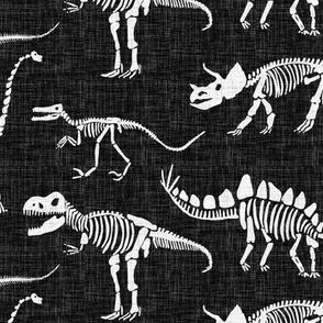 Dinosaurs  - Linen Texture
