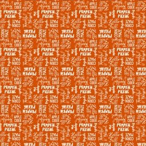(micro scale) Favorite things of fall - fall words on cider - LAD19BS