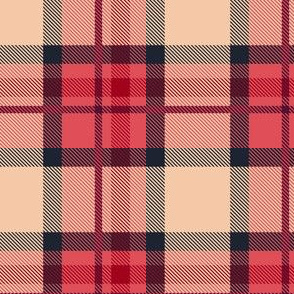 HotPink and Blue Plaid V.03