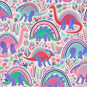 Rainbow Bright Dino-Might