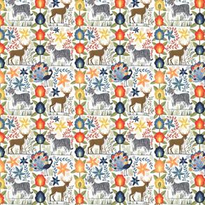 Guatemalan Tapestry - Small - White