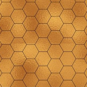 Gold Foil Chicken Wire