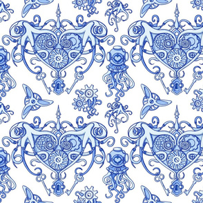 OCTOPUS in love pos Blue50