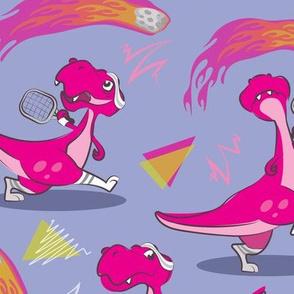 T-Rex tennis | Purple