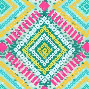 Funky Bandhani (Neon Bold Colors)