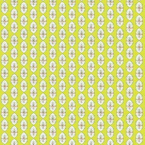Tinsel* (Lime) || midcentury modern vintage geometric holiday Christmas presents gifts bows atomic blush chartreuse