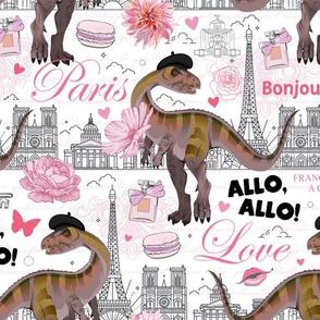 Allo, Allo! Allosaurus Says Hello In French