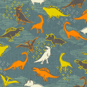 Dinosaurs {Grey}