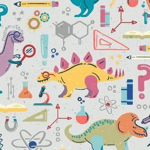 Dinosaur Scientists // STEM-o-saurs // Dino Einsteins // T-Rex, Stegosaurus, Triceratops, Pterodactyl, Spinosaurus, Tyrannosaurus // Paleontology, Chemistry, Physics, Math, Algebra, Calculus, Astronomy, Biology, Anatomy, Axes, Axis, Magnet, Electromagneti