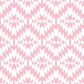 Pink and White Tribal