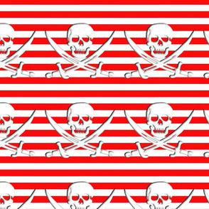 Striped Skull