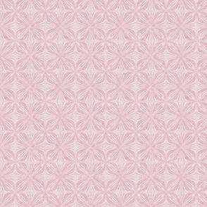 Petal Repeat in Velvety Powder Pink Reverse