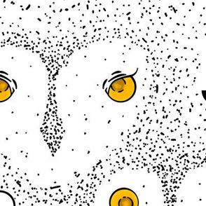 Owl Dot Pattern Extra-Large