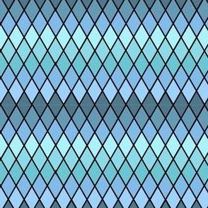 Aqua Diamonds