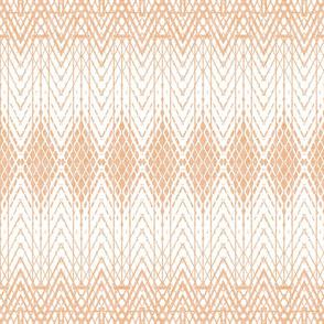 Snakeskin Pattern in Pale Adobe Reversed