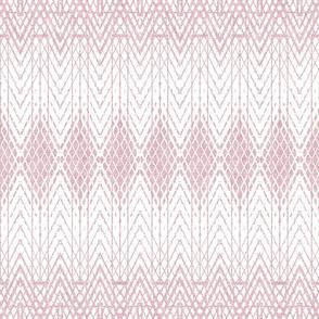 Snakeskin Pattern in Powder Pink Reversed