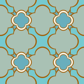Morocco (Spa) 9inch Repeat, David Rose Designs