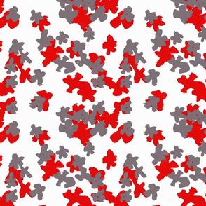 Mini petals - expressive pattern