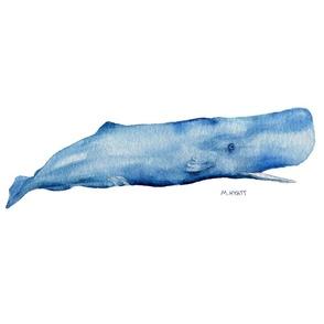 whale in indigo