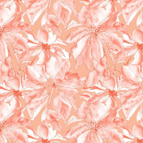 Poinsettia - Coral Blush