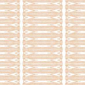 Spearhead Stripes in Pastel Adobe