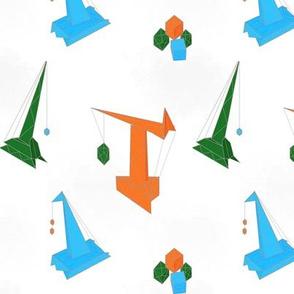 Origami Cranes   Countdown