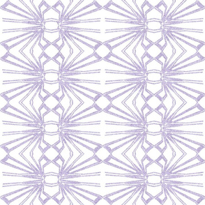 Spider Web Lace Reversed in Pale Lilac