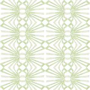 Spider Web Lace Reversed in Lime Green