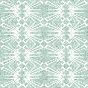 Spider Web Lace in Pastel Green
