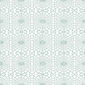 Gossamer Lace in Soft Green