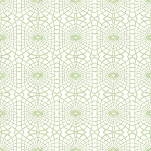 Gossamer Lace in Lime Green