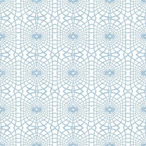 Gossamer Lace in Powder Blue