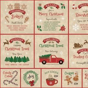Farmhouse Christmas-Distressed