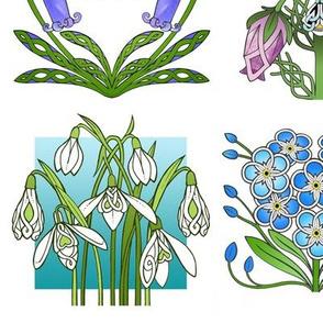 4 Highland Flowers